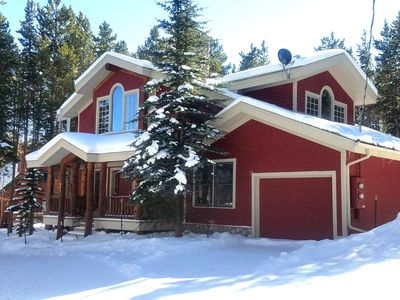 Photo for ** Ski right into this fantastic 5BR SKI-IN Chalet on Peak 8, next to slopes! **