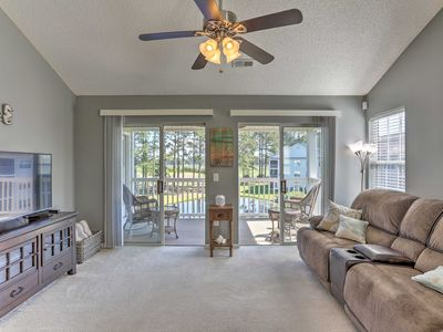 Photo for Myrtle Beach Condo w/Pool & Golf Course Views
