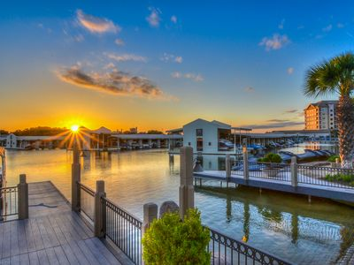 Photo for Upscale lakefront resort condo w/lake views, shared pool, & day dock!