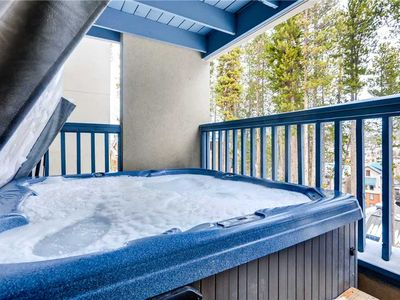 Photo for Spacious townhome with vaulted ceilings, private hot tub, and multiple balconies