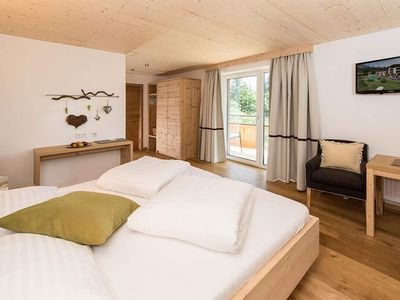 """Photo for Double room """"Morgensonne"""" with balcony approx. 25 m² - Bio-Hotel Rupertus"""
