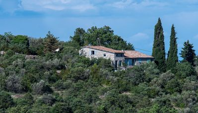 Photo for Gîte hill Pecolebre, spacious, full nature, beautiful view
