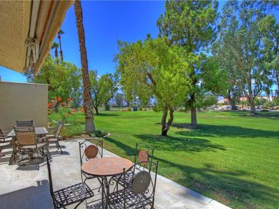 Photo for PS649 - Palm Desert Resorter - Just Steps From The Pool! PET FRIENDLY!