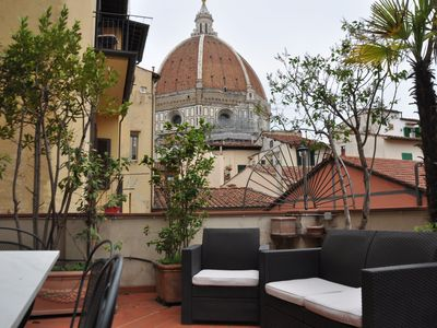 Photo for The Dome Terrace - Apartment in the heart of Florence