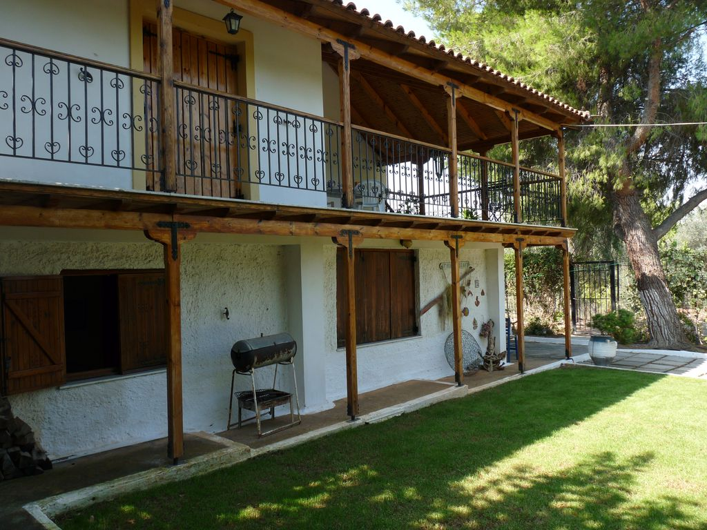Holiday House | 4 Rooms | 500m to the sea | Near Athens, Greece ...