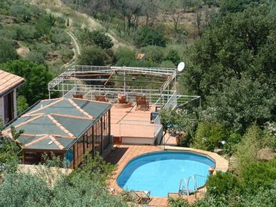 Photo for Very nice villa with pool with stunning views in Cefalù