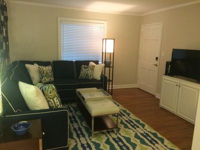 Photo for One bedroom, one bath, full kitchen, sleeper sofa in the living room if needed.