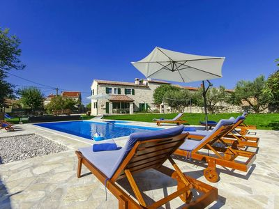Photo for Beautiful villa with private pool and childrens pool, large garden with playground and wellness