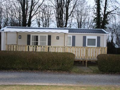 Photo for Camping Le Clos de Balleroy *** - Mobile home Grand Confort 4 Rooms 6 People
