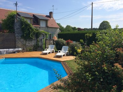 Photo for 3BR Cottage Vacation Rental in Indre-et-Loire, Centre