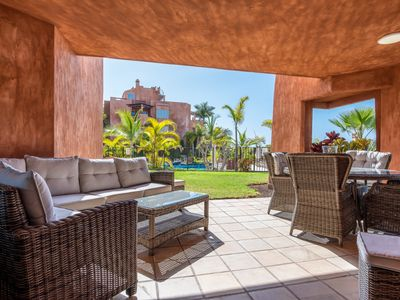 Photo for BAHIA DE LOS Menceyes, very luxurious apartment, with 2 HEATED pools.