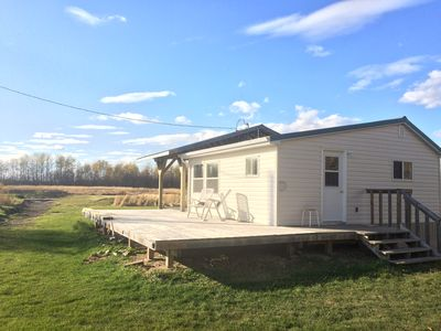 Photo for Beautiful all-season cabin in a peaceful, phenomenal location at a great price