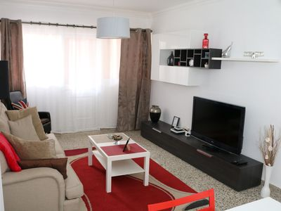 Photo for Central apartment near the beach and 3 bedrooms