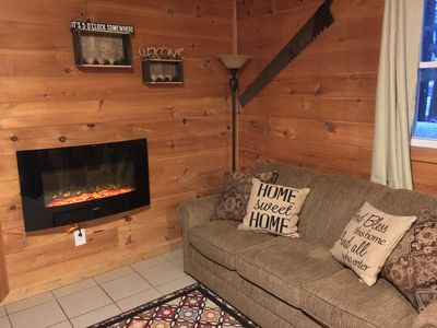 Photo for 3 Bed 1 Bath Cozy Cabin  Wi-Fi  1 Mile From Tippy Big Manistee River