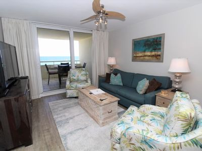 Photo for Perdido Sun 200- Beach Front View + Great location in heart of Perdido Key