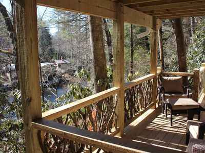 Photo for 65 Below - a NEW Lakefront 2BR/1BA on Mirror Lake, 1 mile from town