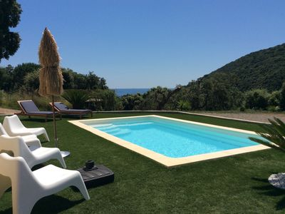 Photo for Villa with Pool Miomo - 900 m beach - green and relaxing