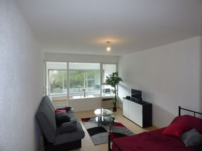 Photo for Studio renovated, ideal location close to the beach, sleeps 4
