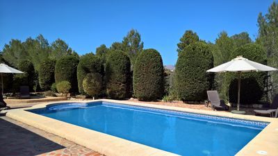 Photo for Casa Mimosa.  Private 3 bedroom villa with pool in a peaceful oasis in Parcent.