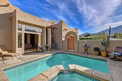 Lots of room for family to play and enjoy the pool