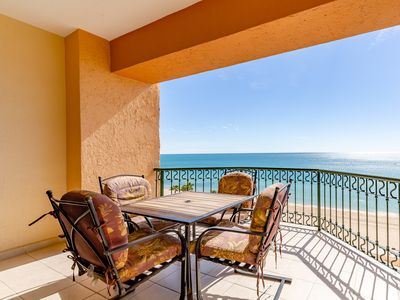 Photo for SSE 609 Amazing Ocean Front 1 bedroom condominium on the 6th floor