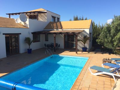 Photo for Luxury Secluded Villa With Large Heated Private Pool And Wifi.