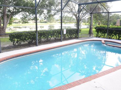 Photo for NEW: 6 Beds House. Pool & Lake. Near Convention Center, Universal & Disney