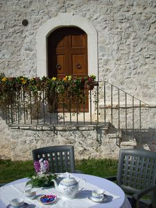 "Photo for Holiday House I Terzieri in the historic village of Ferentillo: ""Apartment Sacrato"""