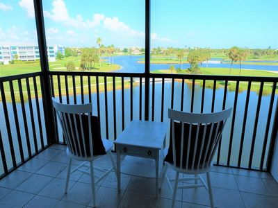 Photo for Beautifully Updated 2 BED / 2 BATH Condo with Stunning Golf Course and Lake Views!