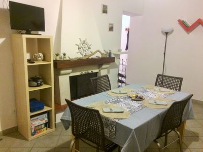 Photo for Lovely one bedroom apartment in a quiet farmhouse in the Tuscan countryside, a few kilometers from the sea