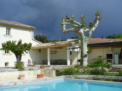 Photo for Bed & Breakfast with swimming pool in Provence