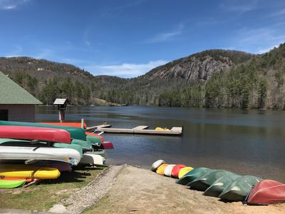 Fairfield Lake & Bald Rock Mtn.w/ Boat Dock where you can rent watercraft!,