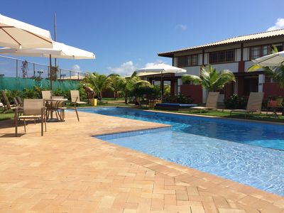 Photo for Excellent Apt in downtown Praia Forte with 2 suites, 110m2 in closed condominium