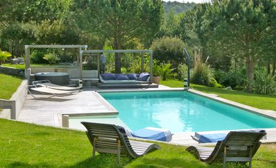 Photo for contemporary villa 5 bedrooms heated pool close to Saint Tropez