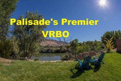 """Welcome to our little slice of """"Paladise"""" - the Palisade River House."""