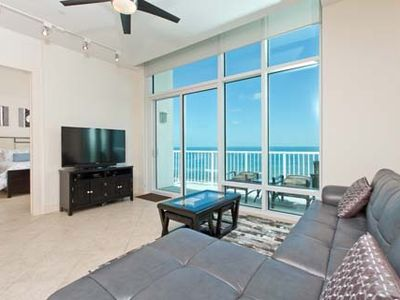 Photo for Beach side condo w/ balcony , teen room, spa, and 3 outdoor pools