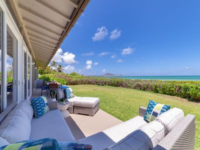 Photo for Kailua Beachfront~private~newly renovated 3 bd private home w/stunning views
