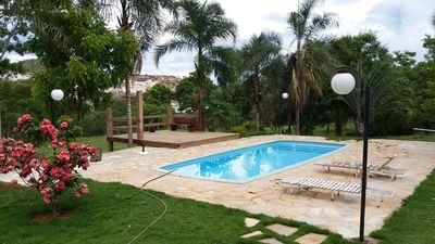 Photo for Cozy house with pool at Fazenda Bonsucesso