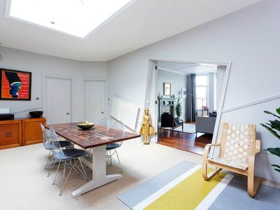 Photo for Lovely 3BR with balcony in Marylebone, 10 minute from Mayfair and Soho, by Veeve