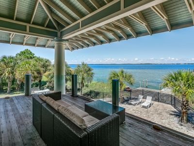 Photo for Waterfront Beach Home with Pool!