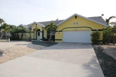 This spacious home is located in a wonderful waterfront neighborhood.