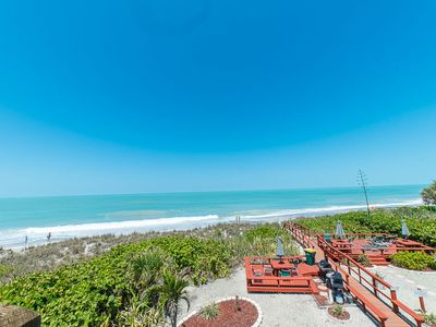 Photo for Water views from every room! Direct Gulf & Beach Front Condo unit on Manasota Key in Englewood. Enjoy magnificent views of the Gulf of Mexico and spectacular, unsurpassed sunsets, all from your private Balcony.