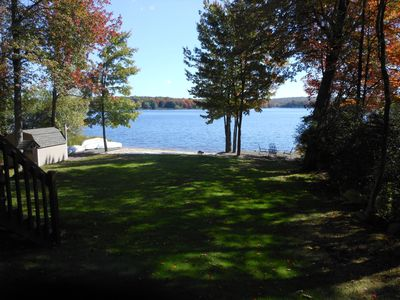 Photo for Pocono Chalet Lakehouse/Lakefront/Beachfront Vacation Home. Truly one of a kind!