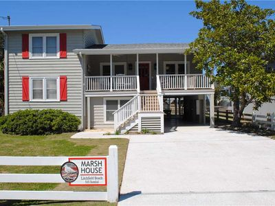 Photo for Marsh House: 5 BR / 3 BA house in Pawleys Island, Sleeps 11