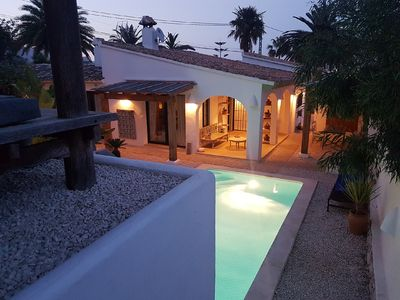Photo for MORAIRA BEACH HOUSE - PROPERTY WITH SEA VIEW SWIMMING POOLS 2 KMS