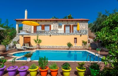 Photo for Anemone Villa - Attractive Modern Villa with A/C and Traditional Features! - Free WiFi
