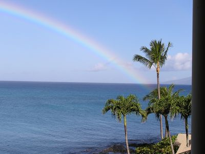 Photo for Napili Point C-22 Offers Fantastic Oceanfront Views and Beautiful Sunsets