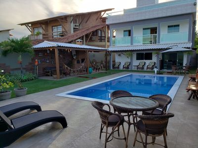 Photo for House by the sea Chicken harbor / Serrambi thermal pool / games room