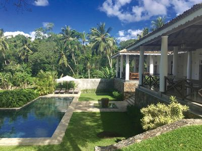 Photo for 3B/R VILLA GALLE | Tropical Garden with Pool & Stunning Views