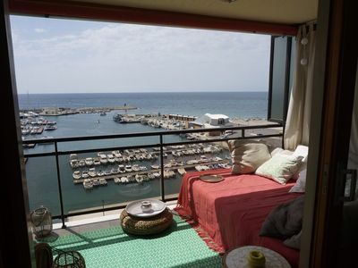 Photo for Apartment terrace sea view